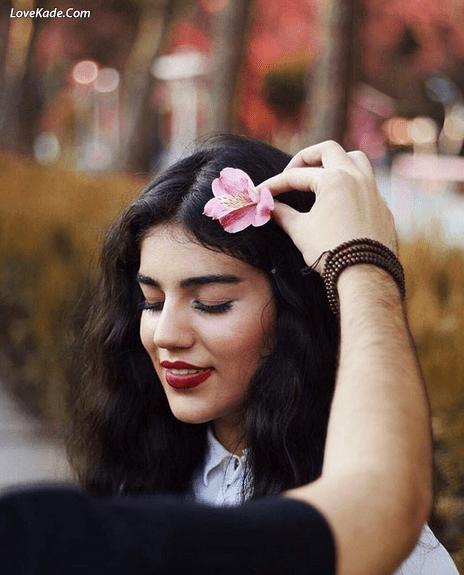 همه ی شکفتن گل های دنیا را فدای خنده ی تو می کنم